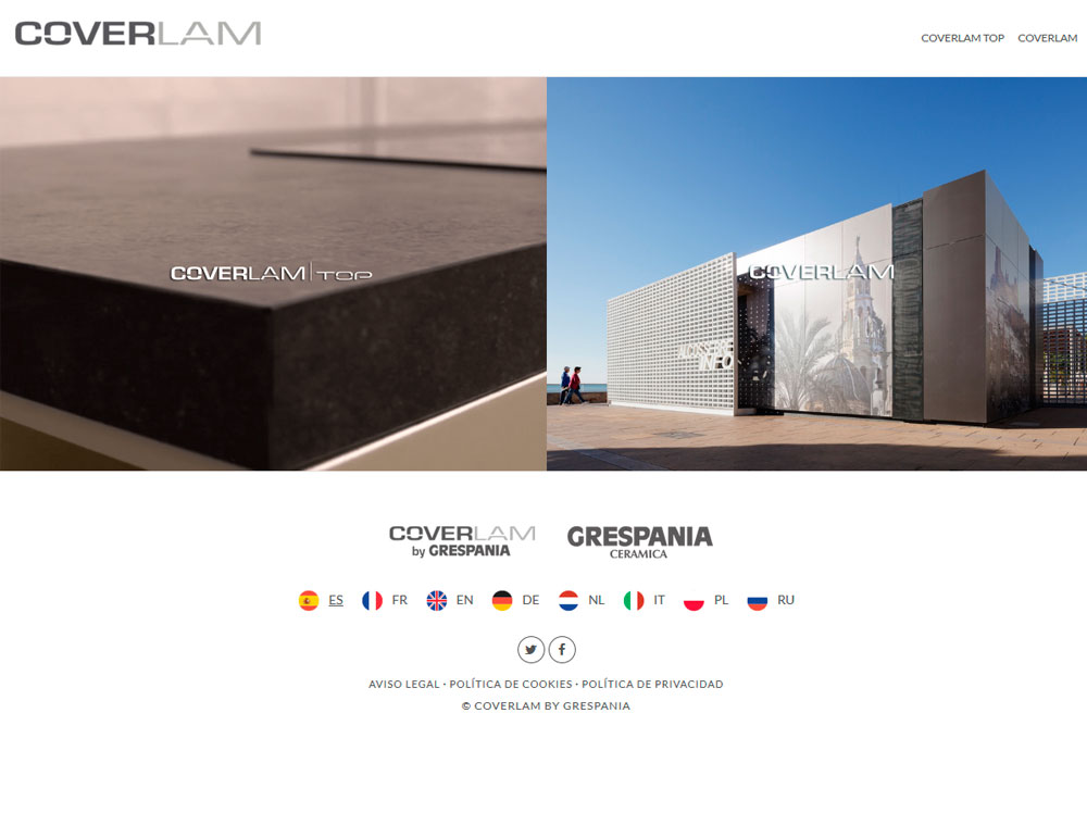 coverlam 01 - Coverlam by Grespania